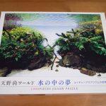 【アクアリウム】天野尚氏没後1年企画のジグソーパズルが届いた!